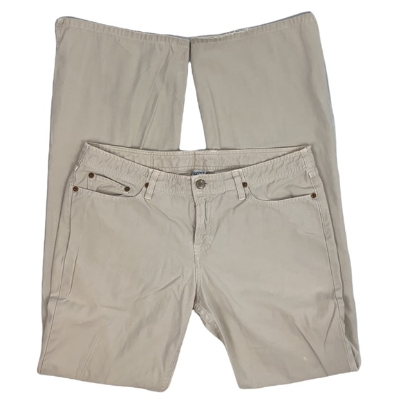 Lucky Brand Wonder Jean Khaki Long Inseam Bootcut Jeans